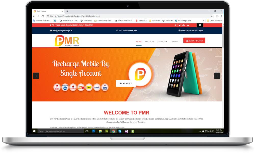 PMR | API PROVIDER |Recharge api